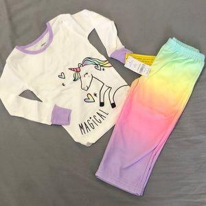 🦄 Unicorn Pajamas BNwT